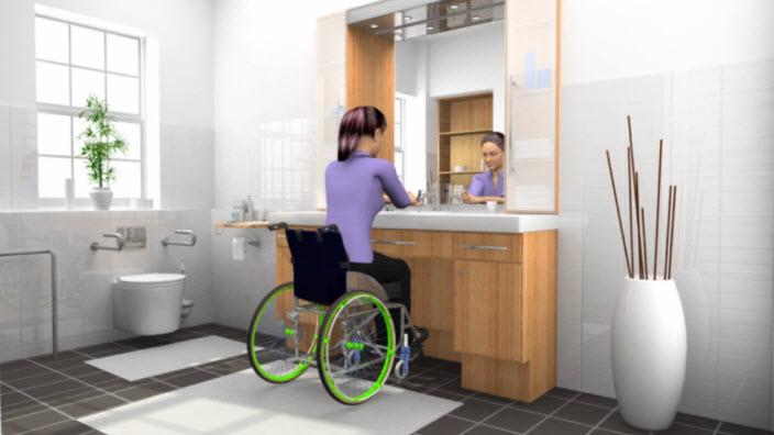 נשים בכיסא גלגלים